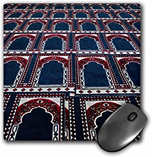 3dRose LLC 8 x 8 x 0.25 Inches Mouse Pad, Pattern of Prayer Rugs, islamic Mosque, Cairo, Egypt-Af14 Aje0030 - Adam Jones (...