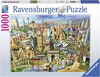 Ravensburger 19890 World Landmarks Jigsaw Puzzle (1000 Piece)