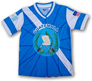 ARZA Guatemala Men's Soccer Jersey USA Proud Shirt
