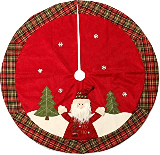 Best christmas tree skirts small Reviews