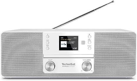 Technisat Digitradio 370 Bt Radio Mp3 Cd Player White 0001 3948 Home Cinema Tv Video