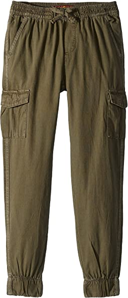 Cargo Canvas Jogger Pants (Big Kids)