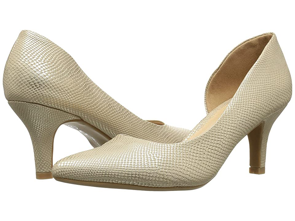 CL By Laundry Estelle (Gold Snake) High Heels