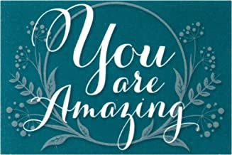 You are Amazing Mini Cardstock Bookmarks Pack of 24