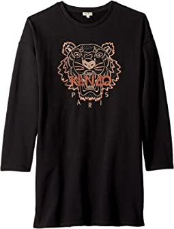 Copper Tiger Dress (Big Kids)