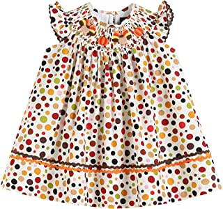 smocked thanksgiving dresses for toddlers