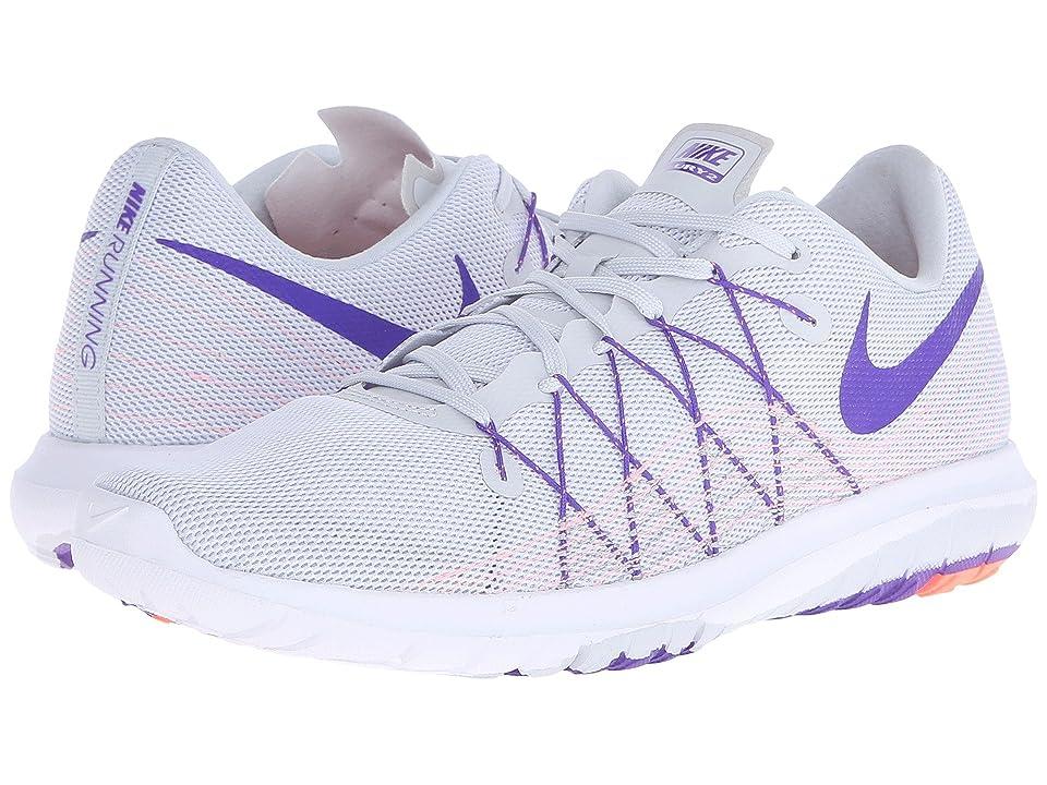 Nike Flex Fury 2 (Pure Platinum/Atomic Pink/White/Fierce Purple) Women
