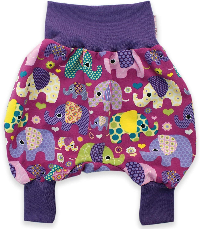 Pumphose Babyhose Hose Baby Kind Mädchen Schmetterling  56-104 Handmade