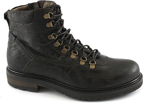 negro Jardines 05480 t. zapatos Oscuros Hombre botas con Cremallera