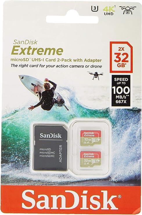 Sandisk Extreme Microsdhc 2 X 32 Gb Uhs I Speed Class Computer Zubehör