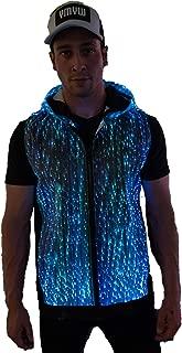 Light Up Hoodie for Men LED Jacket