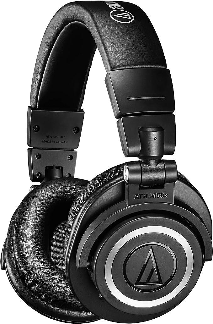 Audio-Technica ATHM50XBT Wireless Bluetooth Headphones