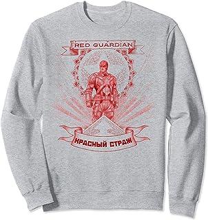 Marvel Black Widow Red Guardian Sketch Sweatshirt