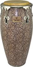 Tycoon Percussion MTCF-110BCF5 11-Inch Master Series Conga with Single Stand, Boa Finish