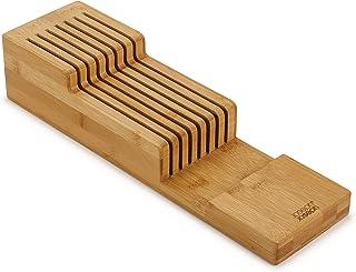 Joseph Joseph 85169 Range-Couteaux en Bambou à 2 Niveaux DrawerStore, Taille Unique