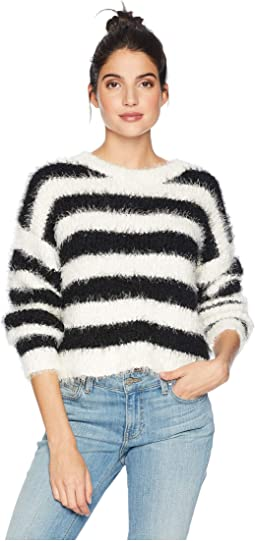 Striped Slouchy Pullover