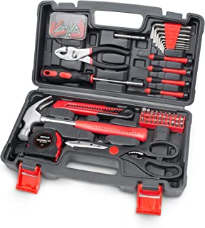 Sponsored Ad – POPULO Hand Tool Set, 80-Piece Basic Tool Kit for Home and Household Repairs, Tool Sets for Women and Men G...