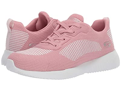 BOBS from SKECHERS Bobs Squad Turn Up (Pink/White) Women