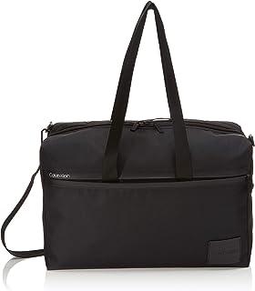 Calvin Klein - Split Weekender, Bolso de mano Hombre, Negro (Black), 1x1x1 cm (W x H L)