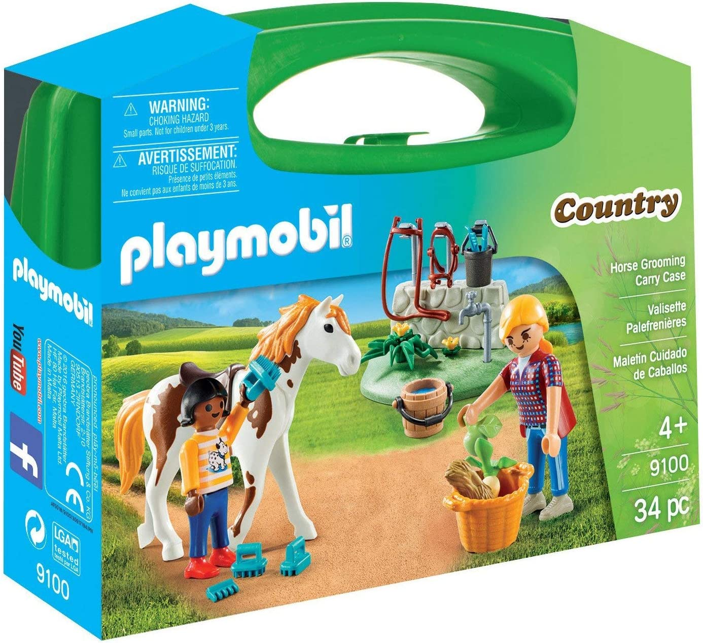 PLAYMOBIL Max At the price of surprise 87% OFF Horse Grooming Case Carry
