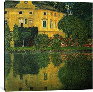 iCanvasART 1-Piece Schloss Kammer on The Attersee IV 'Schloss Kammer on Lake Attersee IV' Canvas Print by Gustav Klimt, 1.5 by 18 by 18-Inch