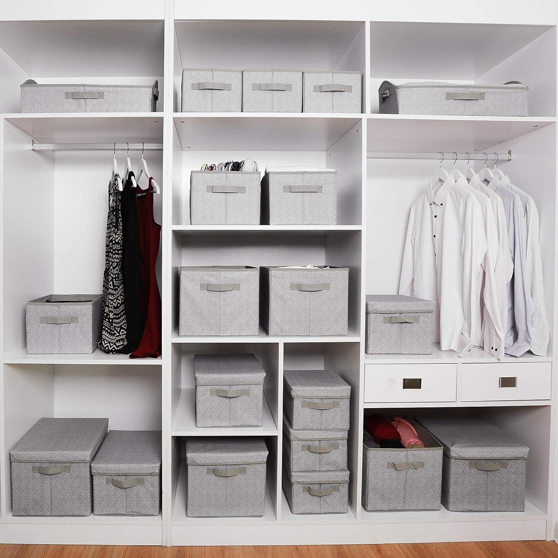 Buy GRANNY SAYS Clothing Storage Bins, Cloth Bins for Closet ...