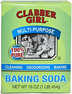 Clabber Girl Baking Soda, 16 Ounce (Pack of 12)