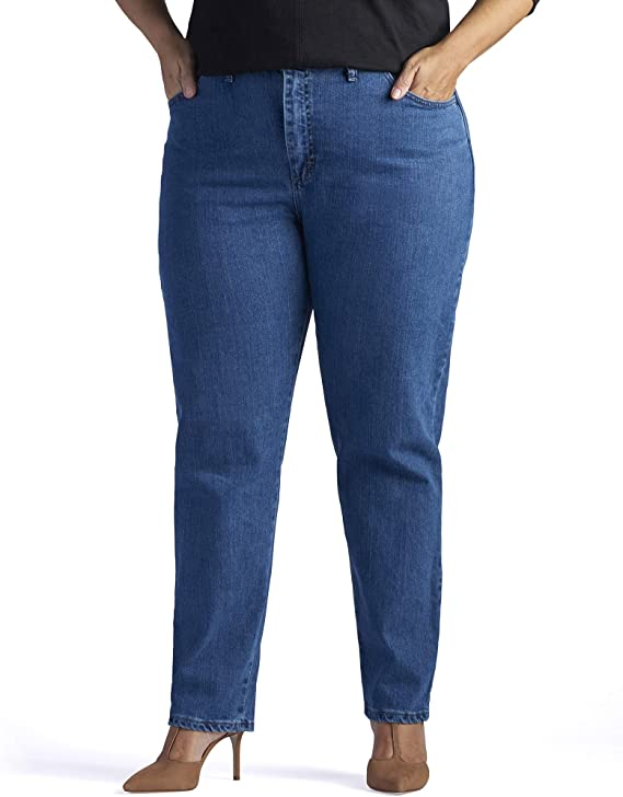 Lee Jeans De Cintura Elastica Para Mujer Talla Grande Amazon Com Mx Ropa Zapatos Y Accesorios