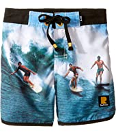 Rock Your Baby - Surfin Safari Boardshorts (Toddler/Little Kids/Big Kids)