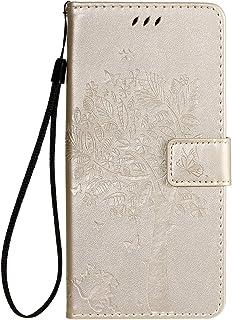 LODROC Lederen Portemonnee Case voor LG G8X/V50S ThinQ, [Kickstand Feature] Luxe PU Lederen Portemonnee Case Flip Folio Co...