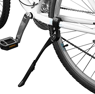 BV Bike Kickstand – Alloy Adjustable Height Rear Side Bicycle Stand, for Bike..