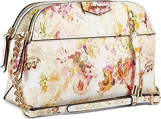 ناين ويست حقيبة كروس بقسم رئيسي بمساحة داخلية واسعة للنساء - بيج