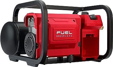 Compressor silencioso compacto de combustível Milwaukee 2840-20 M18, 2 galões