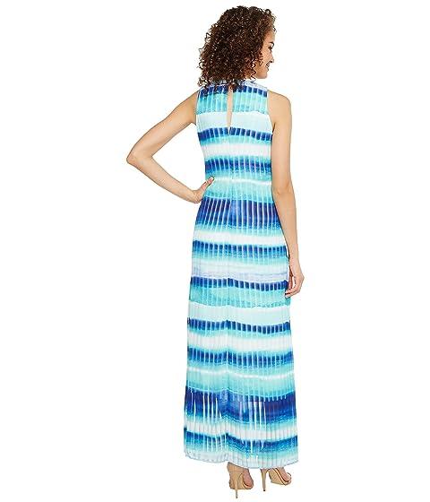 Calvin Klein Stripe Print Maxi Regatta Multi Outlet Free Shipping wUgoqA5W