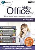 Ability Office 7 Professional - Die Abo-freie und leistungsstarke Office-Alternative (2016 und früher) für professionelle Anwender - Microsoft 10/8/7/Vista [Download]