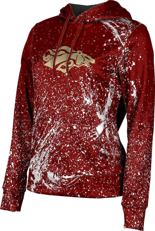 ProSphere Brookwood High School Girls' Pullover Hoodie, School Spirit Sweatshirt (Splatter)