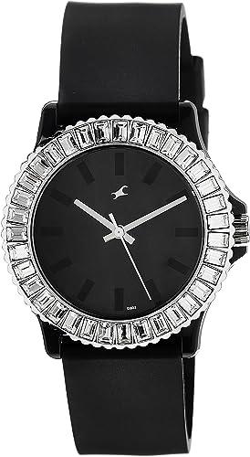 Fastrack Beach Analog Black Dial Women's Watch NM9827PP02 / NL9827PP02