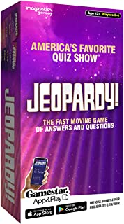 Imagination Jeopardy! The Fast Moving Game of Answers and Questions, Multicolor