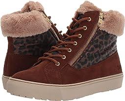Chestnut/Leopard Suede/Nylon