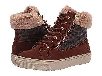 Cougar Dublin Waterproof (Chestnut/Leopard Suede/Nylon) Women