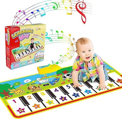 Tapis musical, Tapis de Musique Bébé éducation Précoce Musique Chant Piano Sol Jouets, Modes de Démo Early Education ...