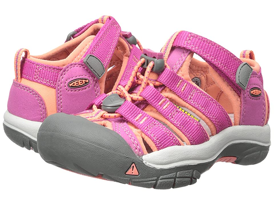 Keen Kids Newport H2 (Toddler/Little Kid) (Very Berry/Fusion Coral) Girls Shoes