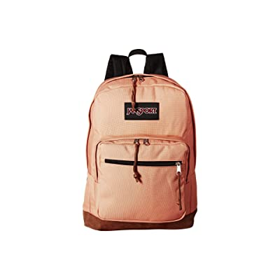 JanSport Right Pack (Muted Clay) Backpack Bags