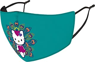 Cute Hello Kitty Earloop Masks Full Face Shield Dust-Proof Sunscreen face washable Headdress Mouth Masks for Outdoor sports or cosplay