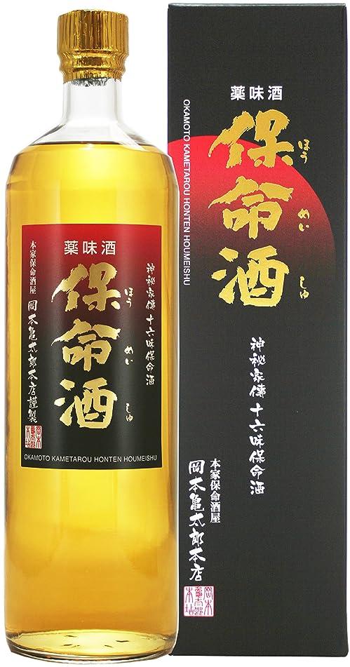あえて識別する熟練した岡亀保命酒 [ リキュール 900ml ]