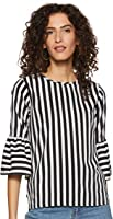 Miss Olive Women's Striped Regular fit Top