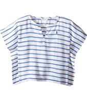Ralph Lauren Baby - Cotton Gauze Stripe Cover-up (Infant)