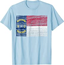 north carolina flag t shirt
