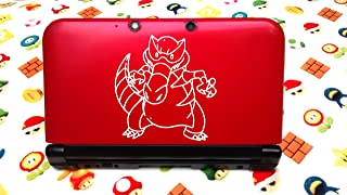 Krookodile Pokemon Decal for 3ds and 3ds Xl