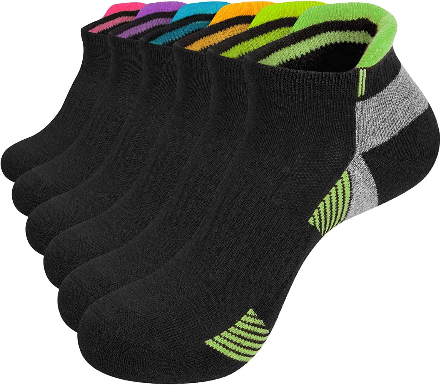 Womens Ankle Socks Low Cut Cushion Mail order Cotton Athletic Sport Workout Max 68% OFF